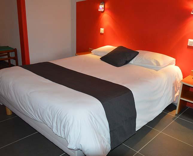 Forfait résidentiel, chambre lit double au relais du moulin neuf lot et garonne